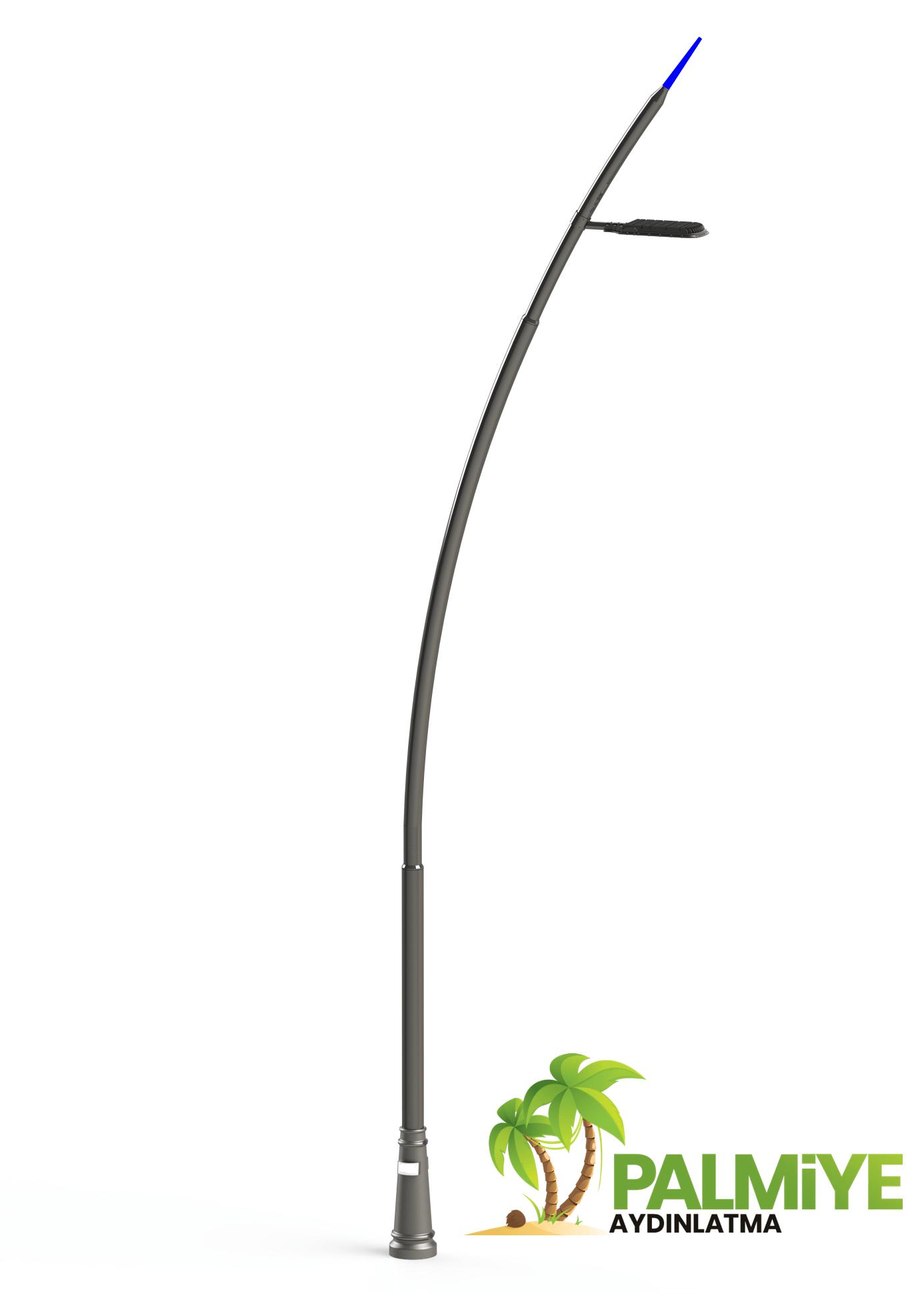 c tipi dekoratif aydınlatma direği