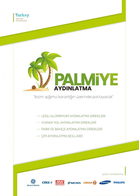 palmiye aydınlatma katalog