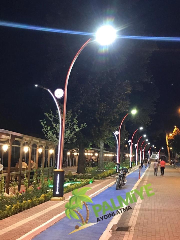 aluminyum aydınlatma direkleri