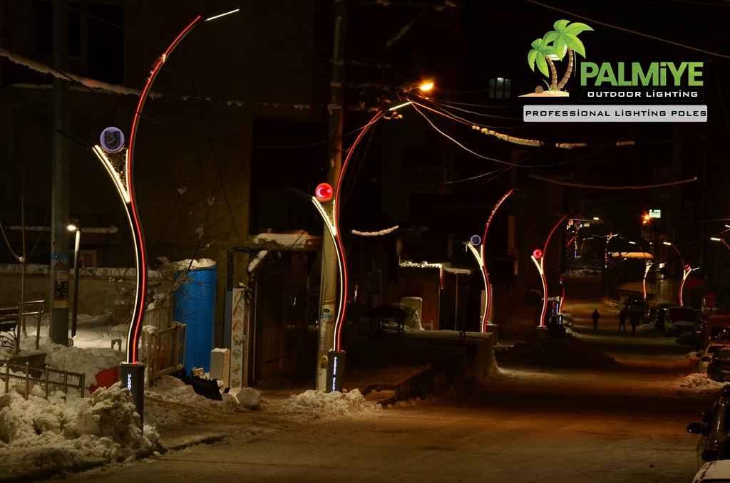 şırnak uludere aluminyum ledli aydınlatma direkleri (1)