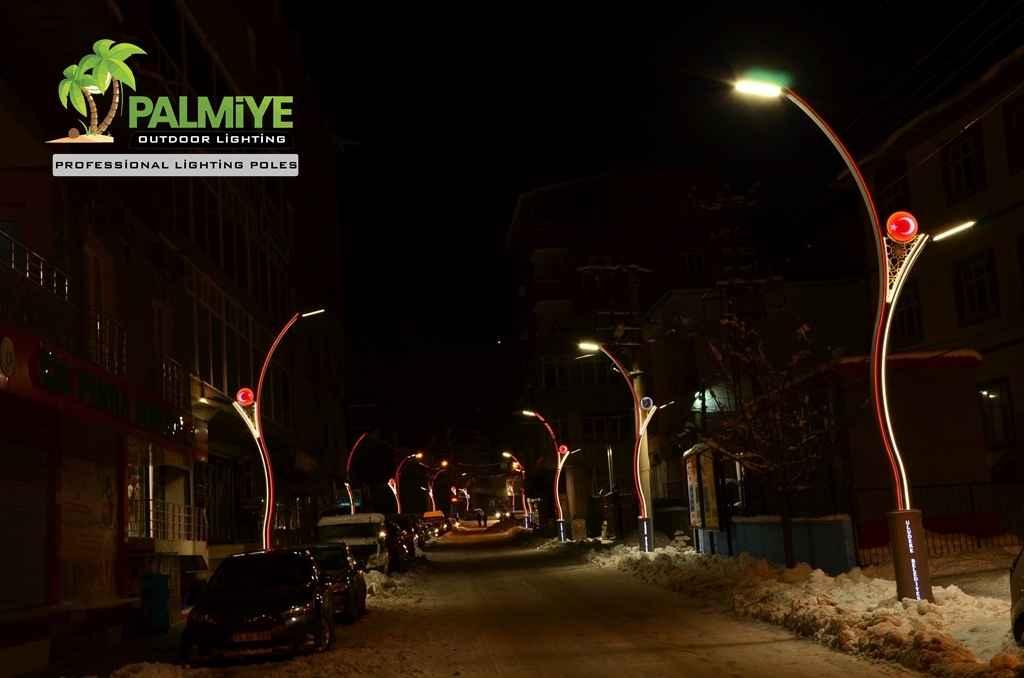 şırnak uludere aluminyum ledli aydınlatma direkleri (5)