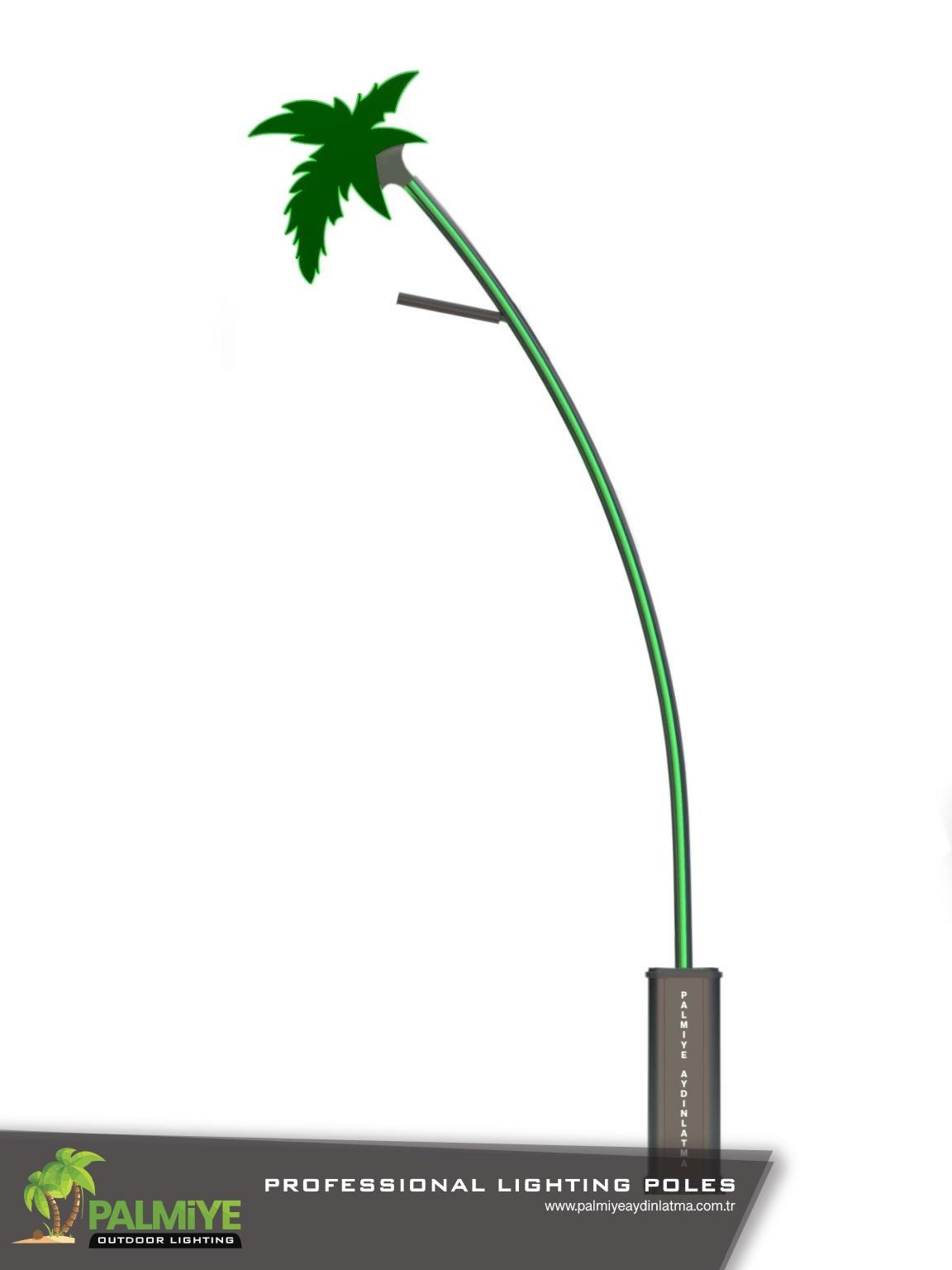 Aluminyum Aydınlatma Direkleri - palmiye