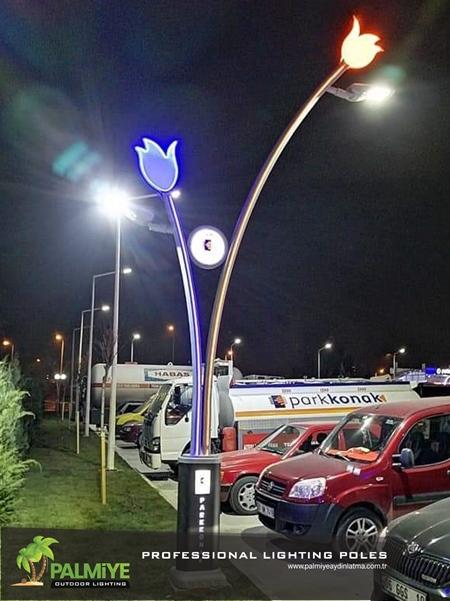 Parkkonak akaryakıt istasyonu aydınlatma