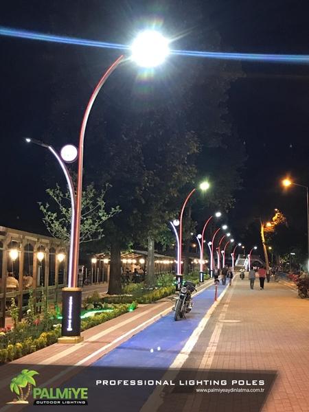 osmancık belediyesi aydınlatma direkleri
