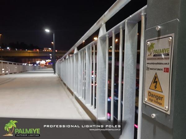 edirnekapı metrobüs aydınlatma direkleri (2)