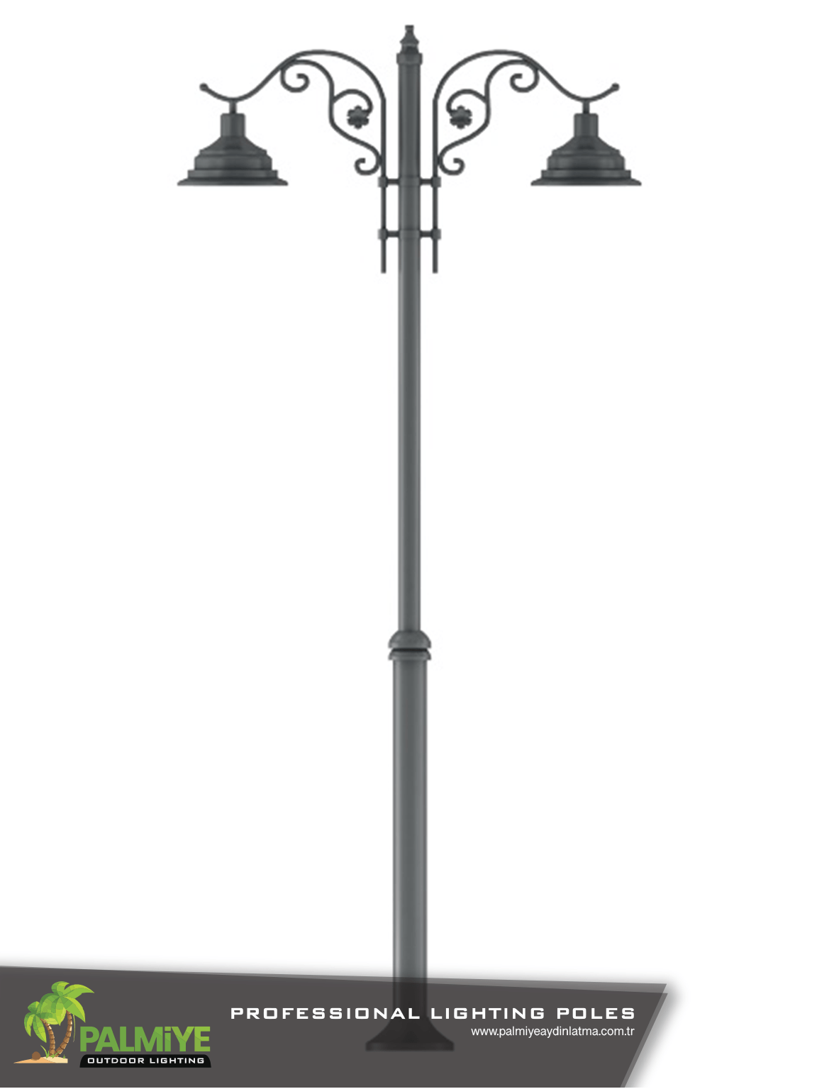 Dekoratif aydınlatma direkleri LENA V2